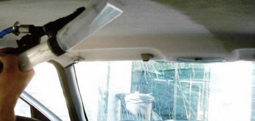 Lavaggio ed igiene interni con sanificatore e tratt. Ozono